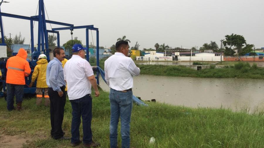 En espera de avance de proyecto de dren pluvial en Villas de Altamira
