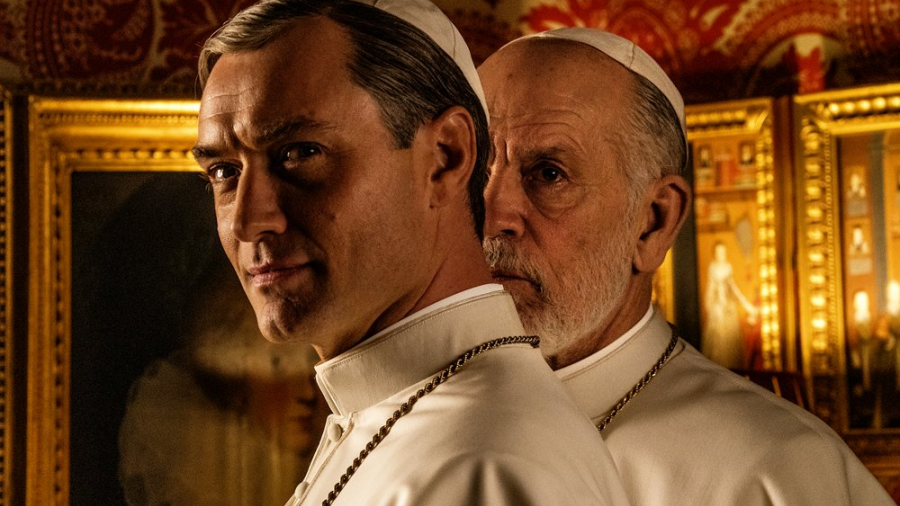 Primera imagen de Law y Malkovich en The New Pope