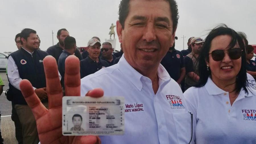 """Muestra Mario López """"Visa Láser"""" para acabar con rumores"""
