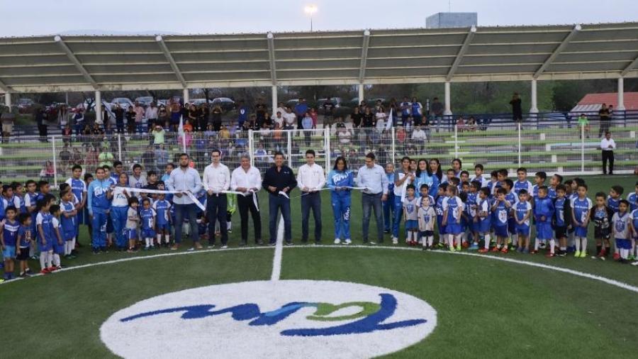 FGCV inaugura espacios deportivos en Ciudad Victoria