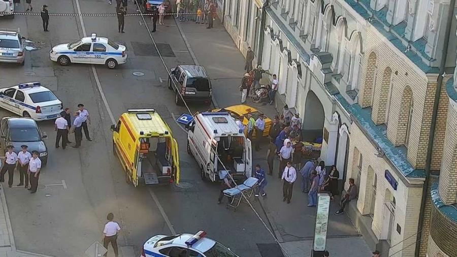 ⚽️ Taxi atropella a multitud en Moscú, Rusia; Por lo menos 3 mexicanos heridos.