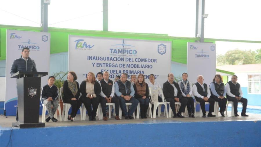 NotiGAPE - Entrega Gobierno de Tampico Nuevo Comedor Escolar en ...