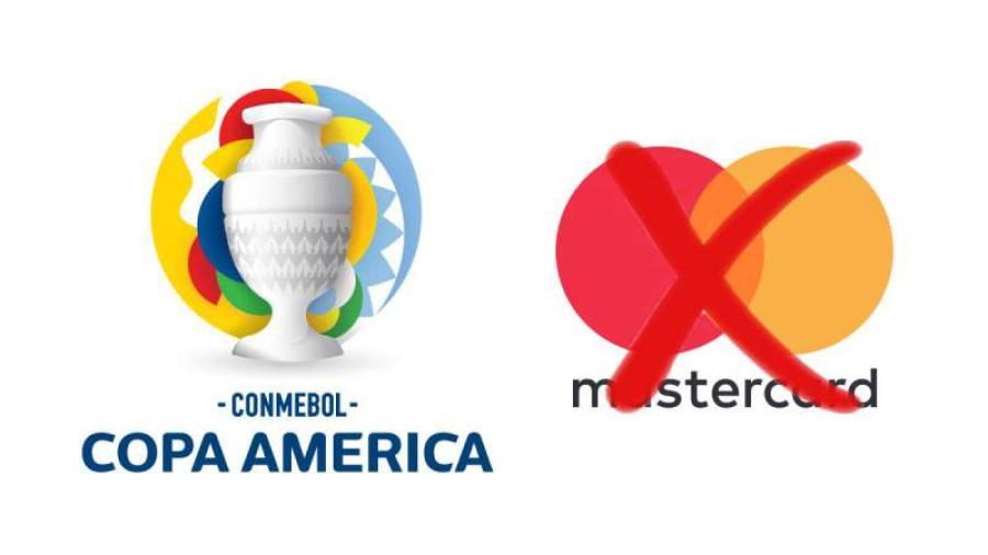 Mastercard retira patrocinio a la Copa América en Brasil