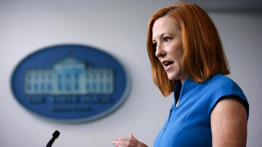 Jen Psaki desaprueba el uso de látigos por parte de Patrulla Fronteriza contra migrantes
