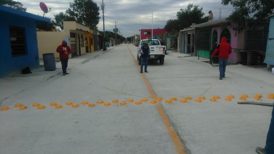 Beneficia pavimentación de calle Minas 2 a más de 5 Mil habitantes