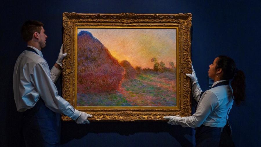 Cuadro de Monet bate récord mundial en subasta