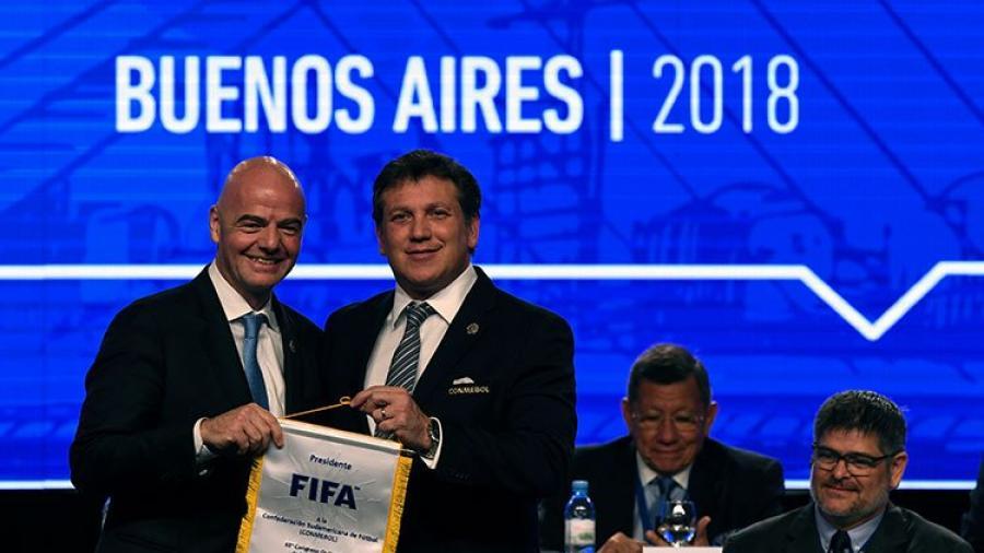 Conmebol respalda candidatura de Concacaf para copa mundial de 2026