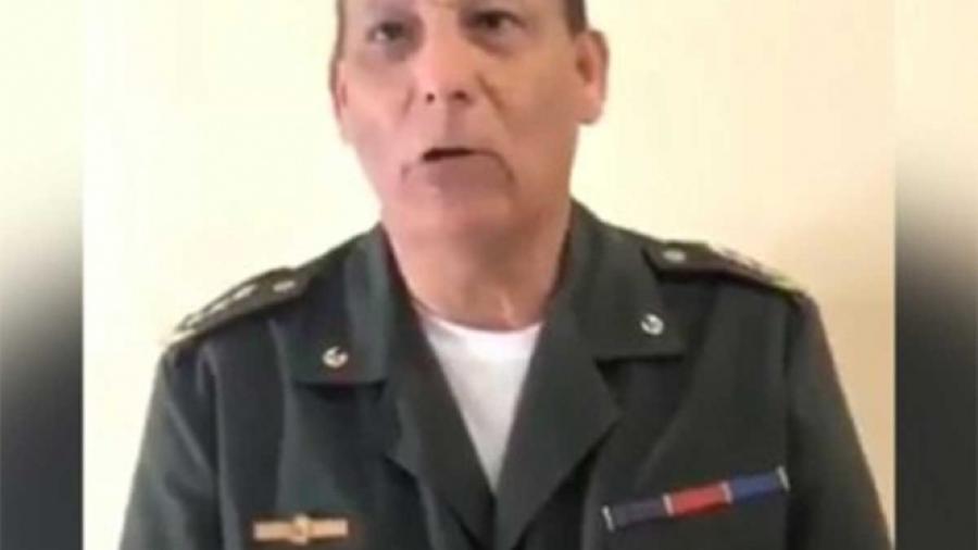 Otro militar desconoce a Maduro