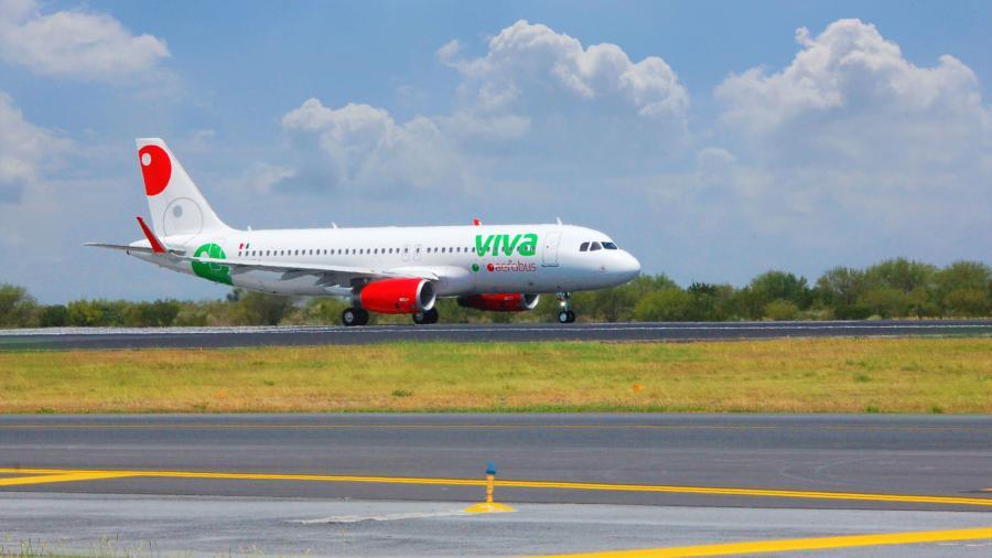 Fortalece Viva Aerobus la conectividad aérea de Tamaulipas, con la nueva ruta Tampico - Ciudad de México