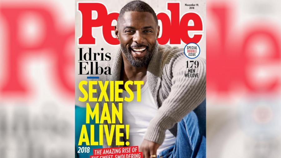Idris Elba, elegido 'el hombre más sexy'