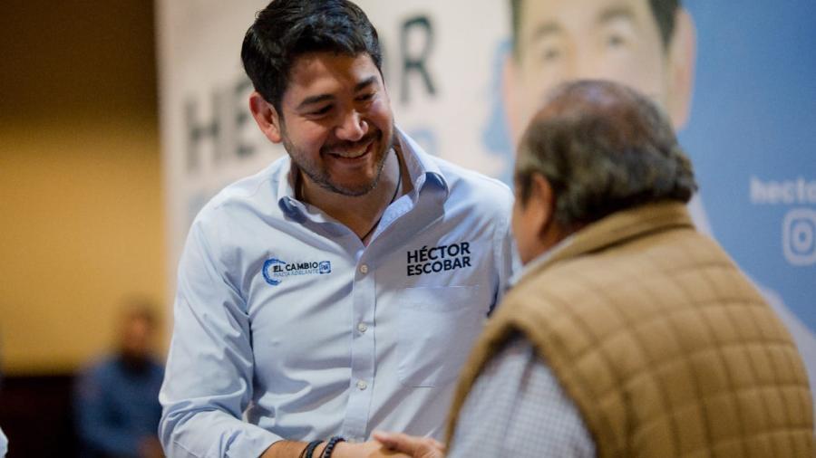 Arranca campaña Héctor Escobar