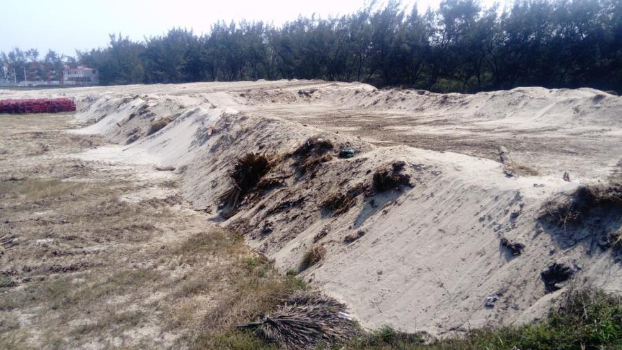 Profepa supervisa extracción de arena en playa