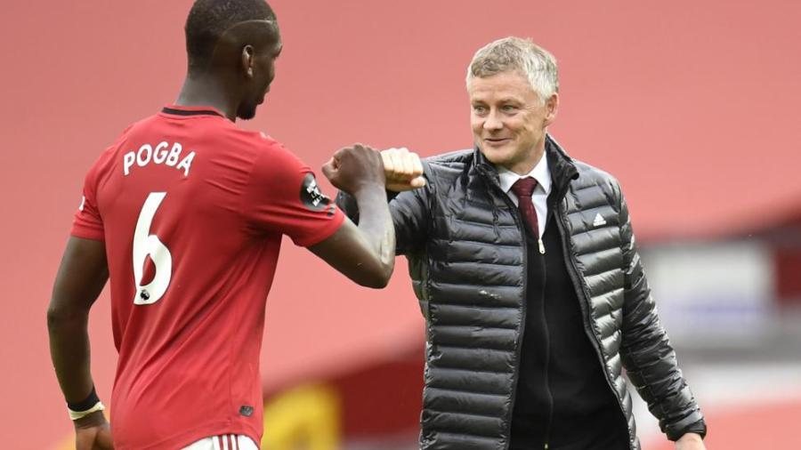 Solskajaer confía en la renovación en Paul Pogba con el United
