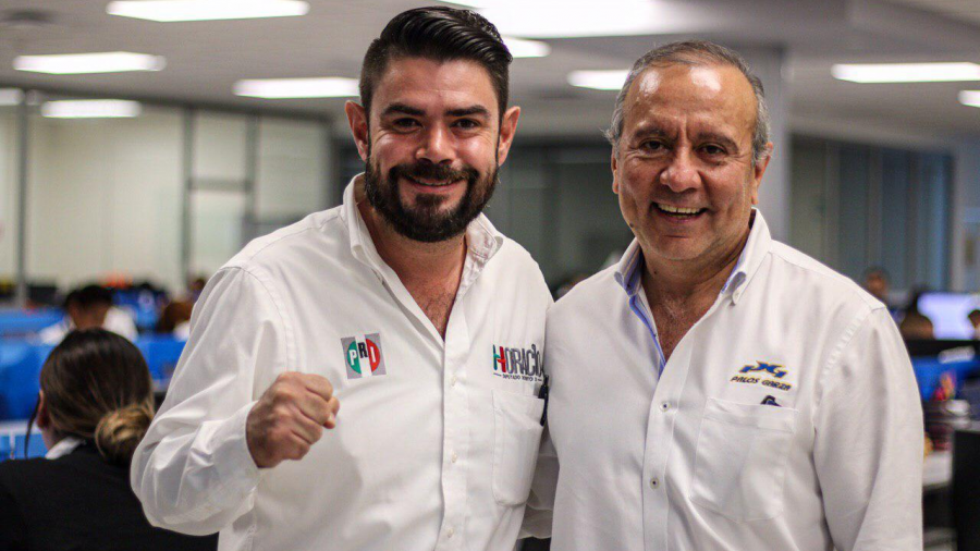 Presenta proyecto Horacio a Palos Garza