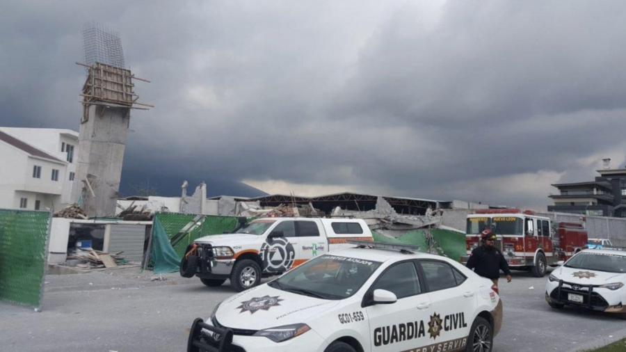 Asciende a 7 el número de muertos tras derrumbe en Monterrey