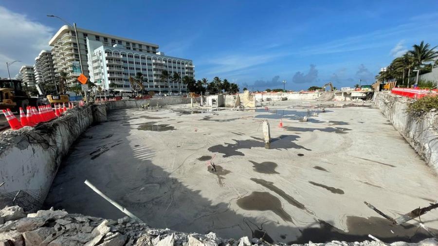 Declaran finalizadas las labores por derrumbe de edificio en Miami