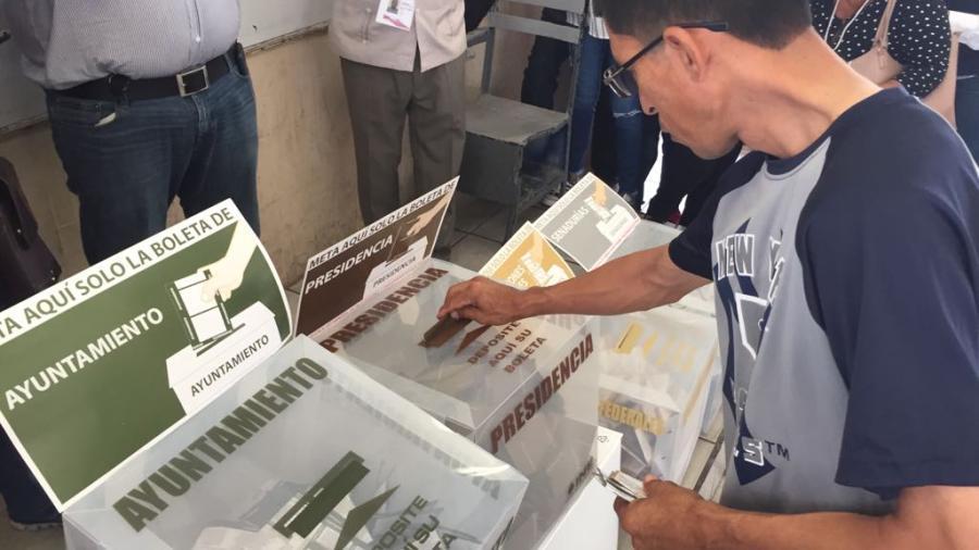 Sin incidentes graves, transcurre la jornada electoral en Altamira