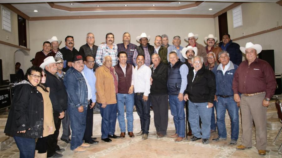 Son palpables acciones de Mario López en comunidades rurales de Matamoros