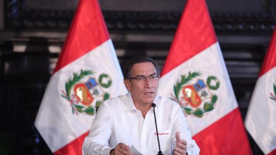 Presidente de Perú anuncia retorno de la inmovilización social obligatoria los domingos
