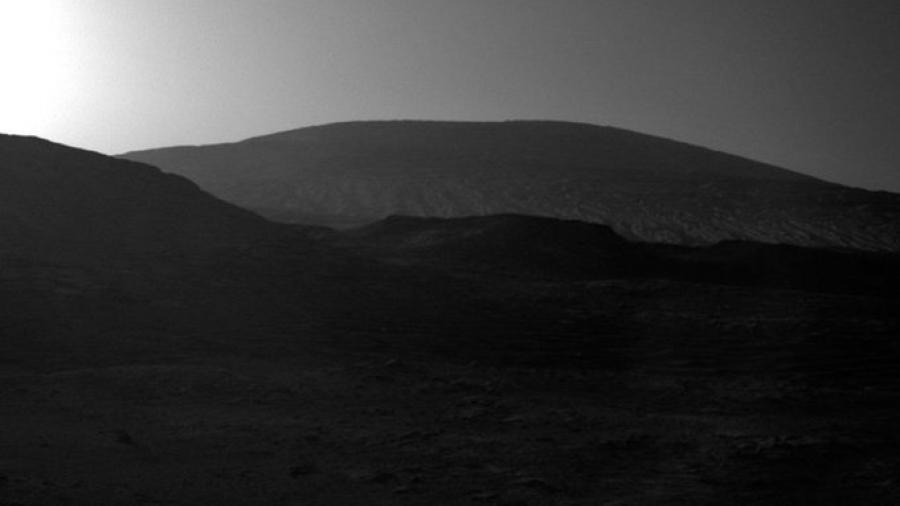 Así se ve el amanecer, ¡en Marte!
