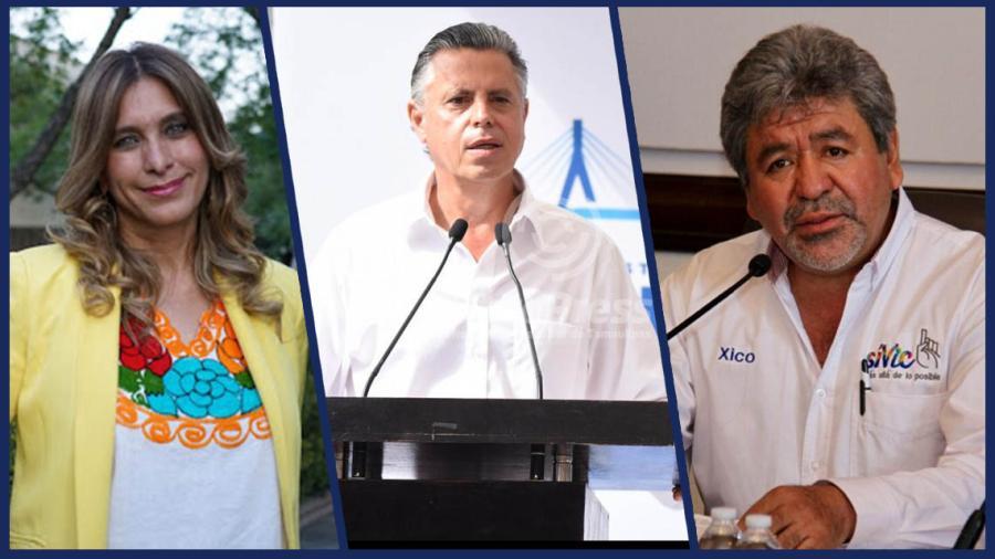 Maki Ortíz y 'Chucho' Nader entre los alcaldes mejor aprobados; Xico González, reprobado