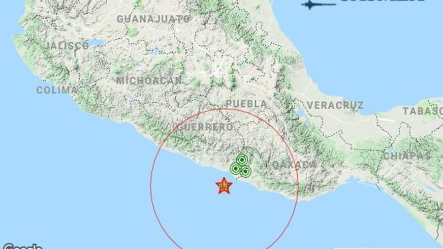 Sismo de 4.4 sacude a Ometepec, Guerrero