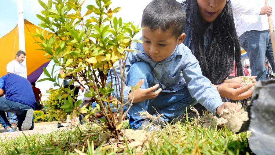 Gobierno de Tamaulipas reforesta y entrega tambos para agua en el CEREDITAM