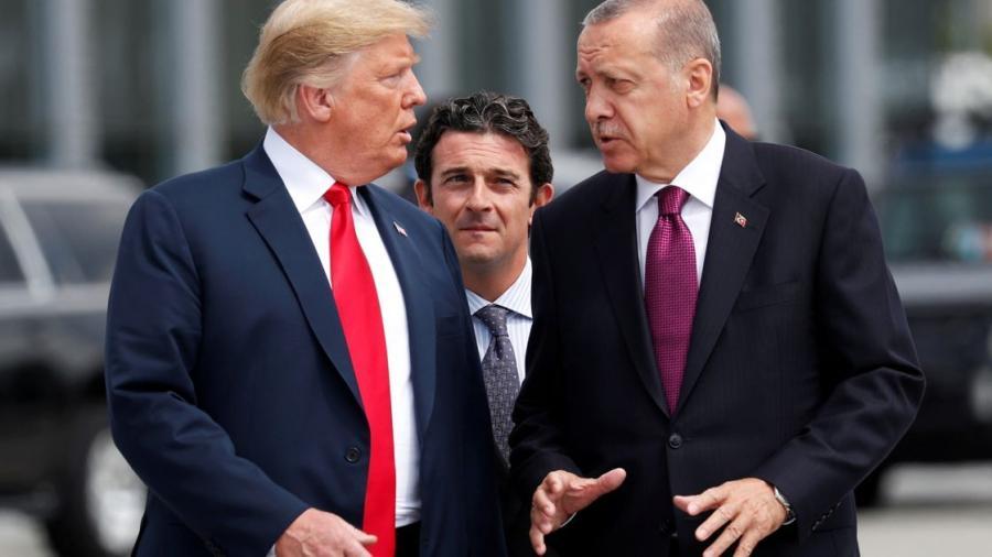 Trump duplica aranceles a Turquía, Erdogan amenaza con represalias