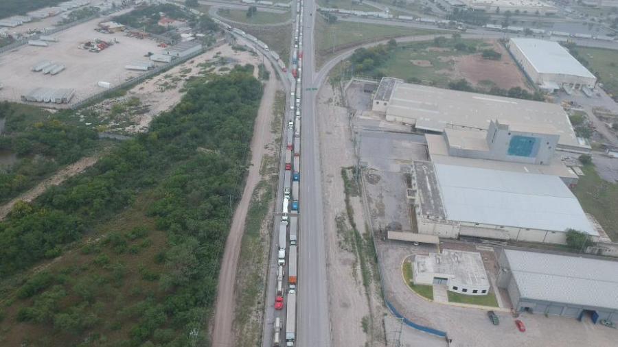 Vehículos ligeros sólo podrán cruzar los fines de semana por puente Reynosa-Pharr
