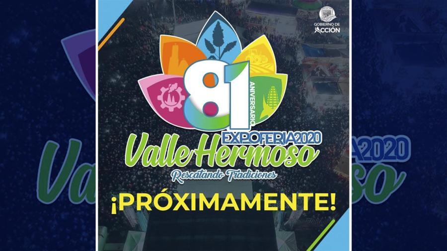 ExpoFeria Valle Hermoso, lista para el 81 Aniversario