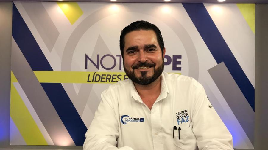 """""""Tengo la voluntad y las ganas"""": Javier Garza Faz"""