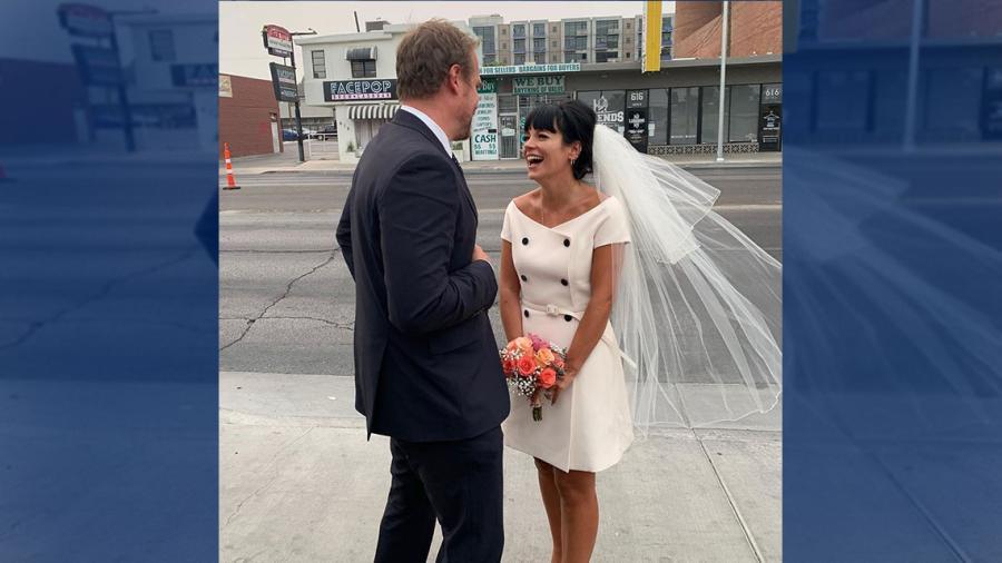 David Harbour y Lily Allen ¡Se casaron!