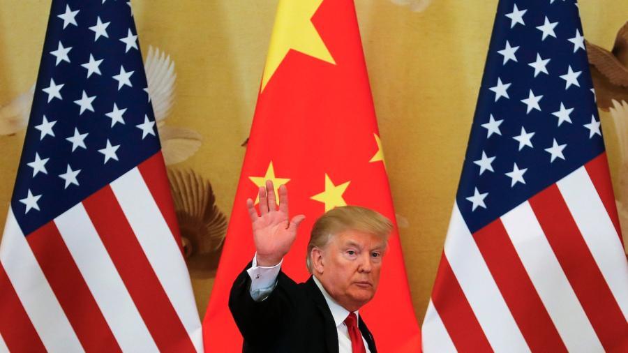 Trump se autoproclama 'elegido' para guerra comercial contra China