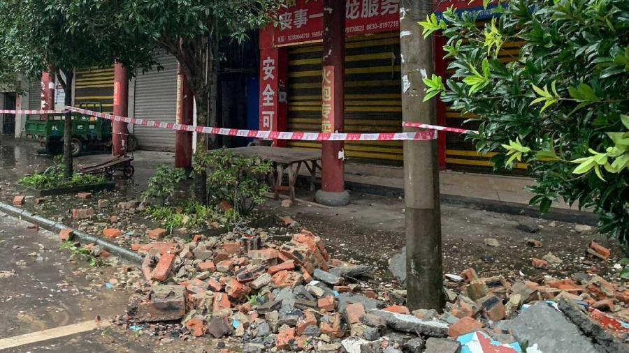 Terremoto en China deja al menos dos muertos