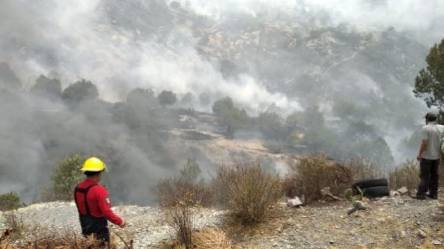 Incendio en Cerro de Camelia consume 10 hectáreas: PC