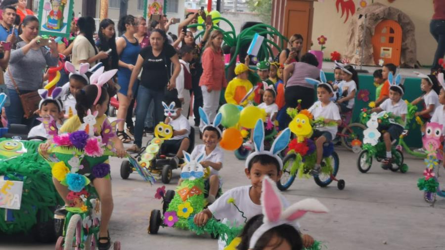 Escuelas de Reynosa, reciben este lunes a la primavera