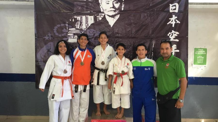 Tamaulipecos clasifican al Panamericano de Karate