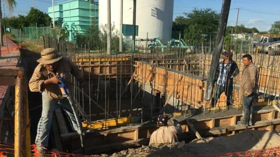 Avanza la construcción de la planta potabilizadora de agua