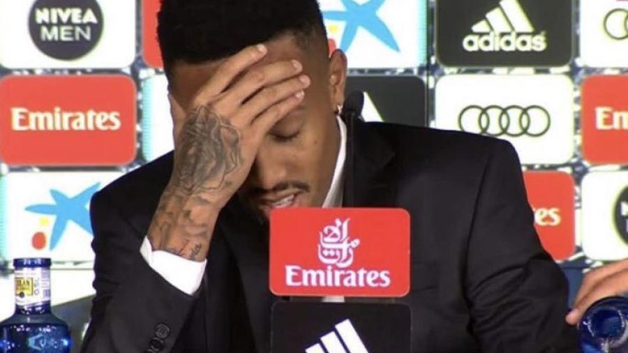 Eder Militao sufre mareos en medio de su presentación en el Real Madrid