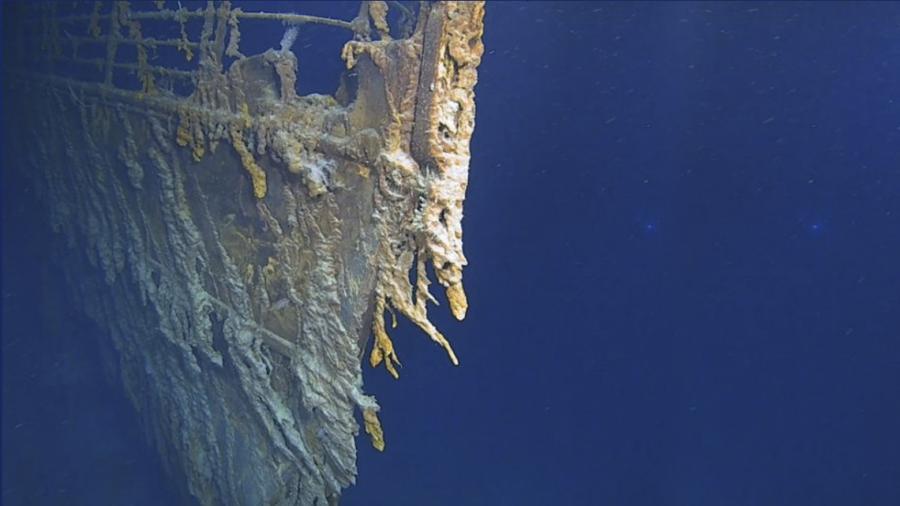 Las primeras imágenes del Titanic después de 14 años