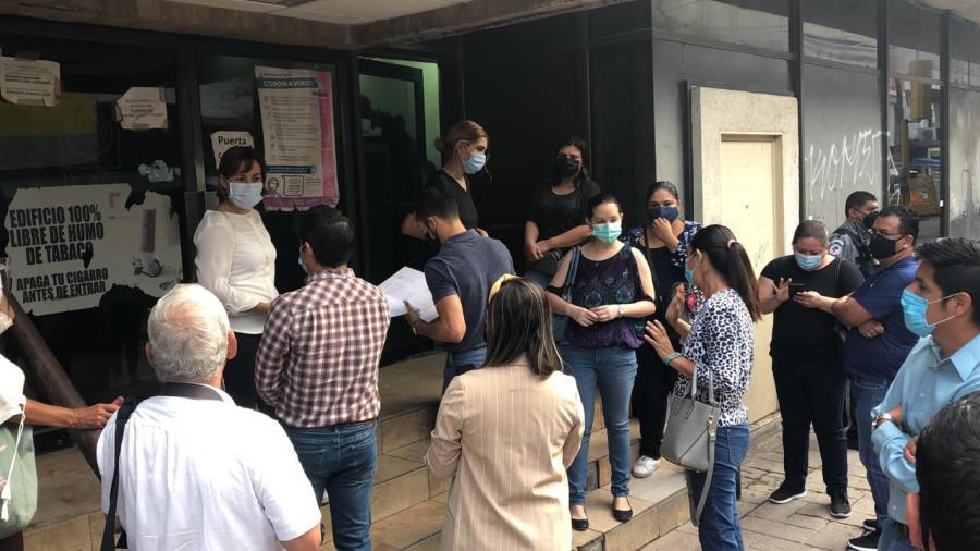 Continúan las protestas en contra del ISSSTE por cancelación de contrato de guarderías