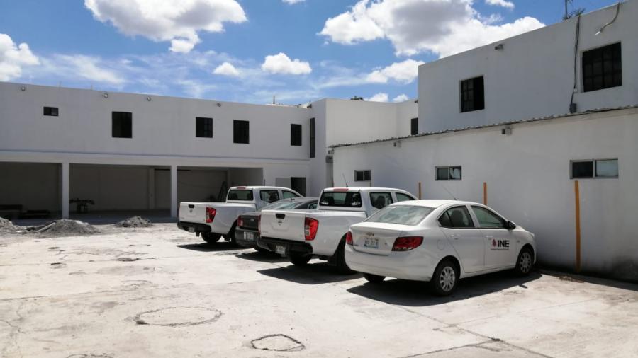 INE amplía sus instalaciones en la sede del cuarto distrito en Matamoros