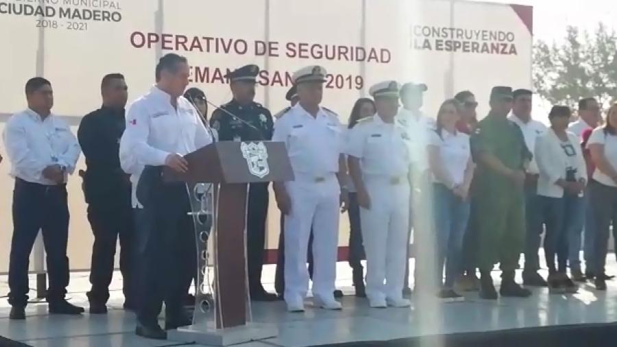Arranca Operativo de Seguridad Semana Santa 2019