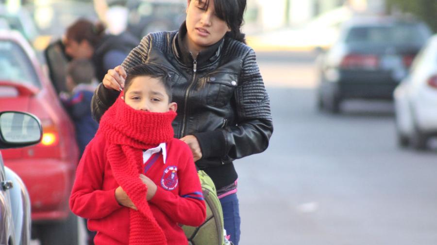 Suspensión de clases por frío extremo en frontera