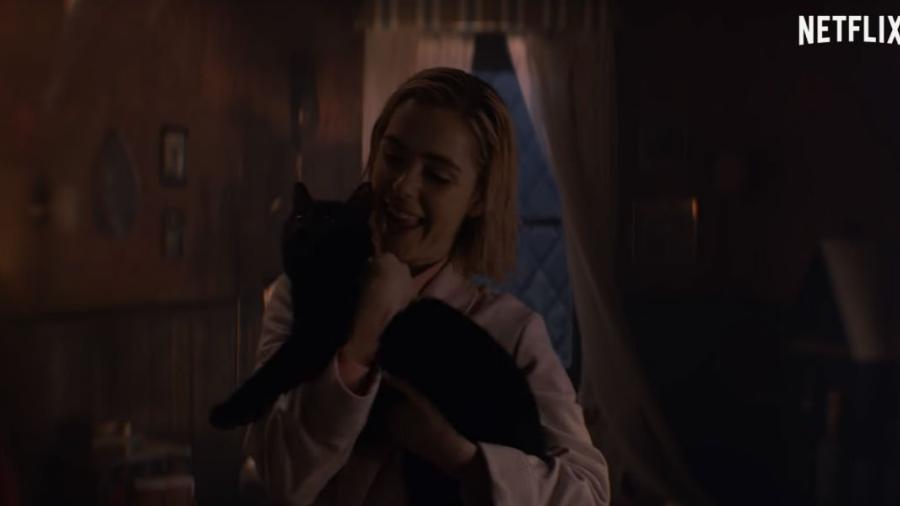 Salem y Sabrina se encuentran por primera vez en un nuevo adelanto