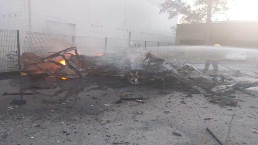 Explota coche bomba cerca de las instalaciones de la GN en Celaya