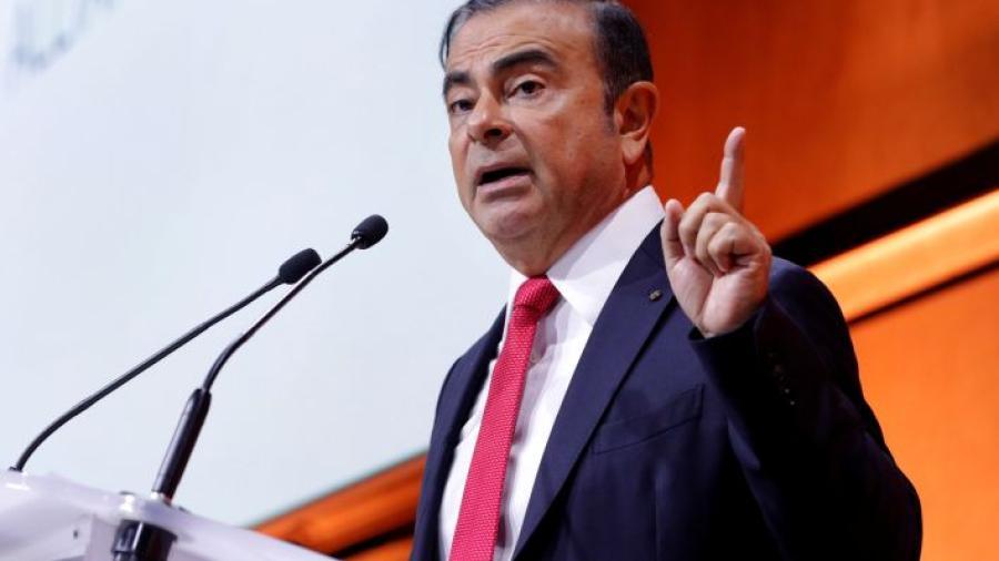 Detienen al presidente de Nissan y Renault