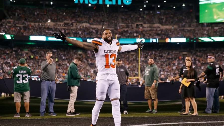 Los Browns se llevan su primera victoria en el Monday Night Football