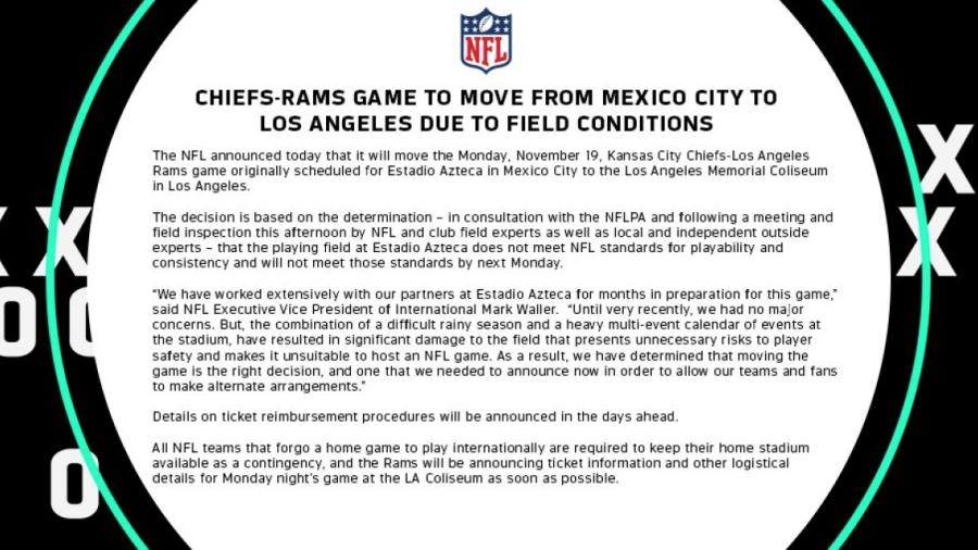 TXiWlhTJI0W3VknbFz5D.png OFICIAL  NFL cancela Monday Night Football en  México  juego se mueve a L.A. TvM5DbPRqx5czt8mwVbq.png ... 0eeec2519c5
