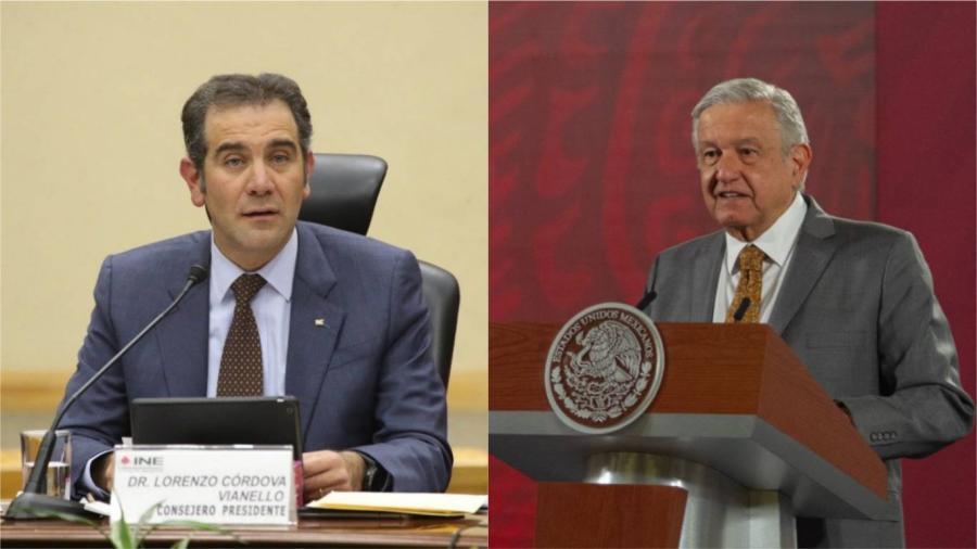 """""""Voté aplicar sanciones en ambas entidades"""", Lorenzo Córdova responde a los ataques de AMLO"""